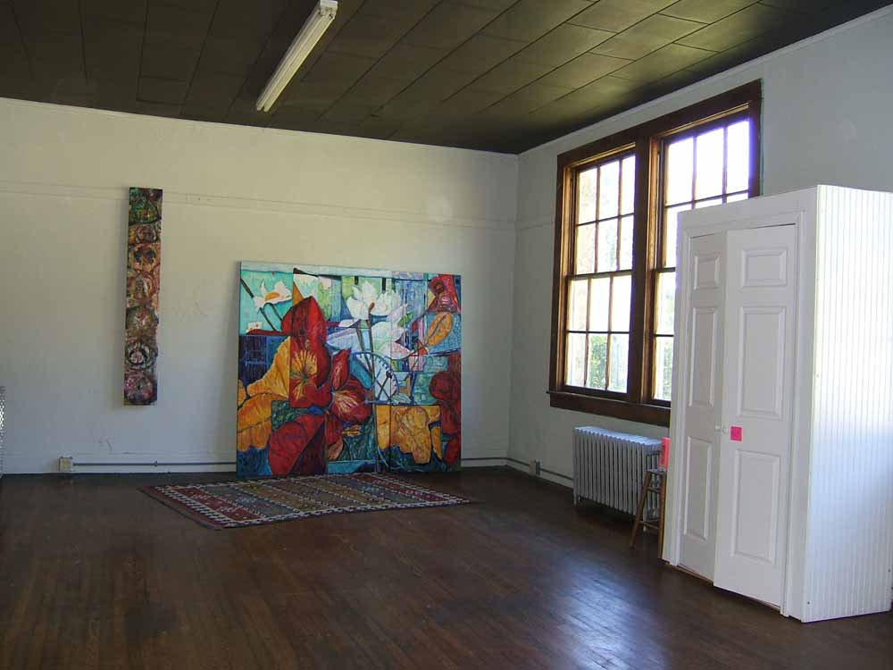 Susan Livengood Art Gallery Old Fines Creek Gym