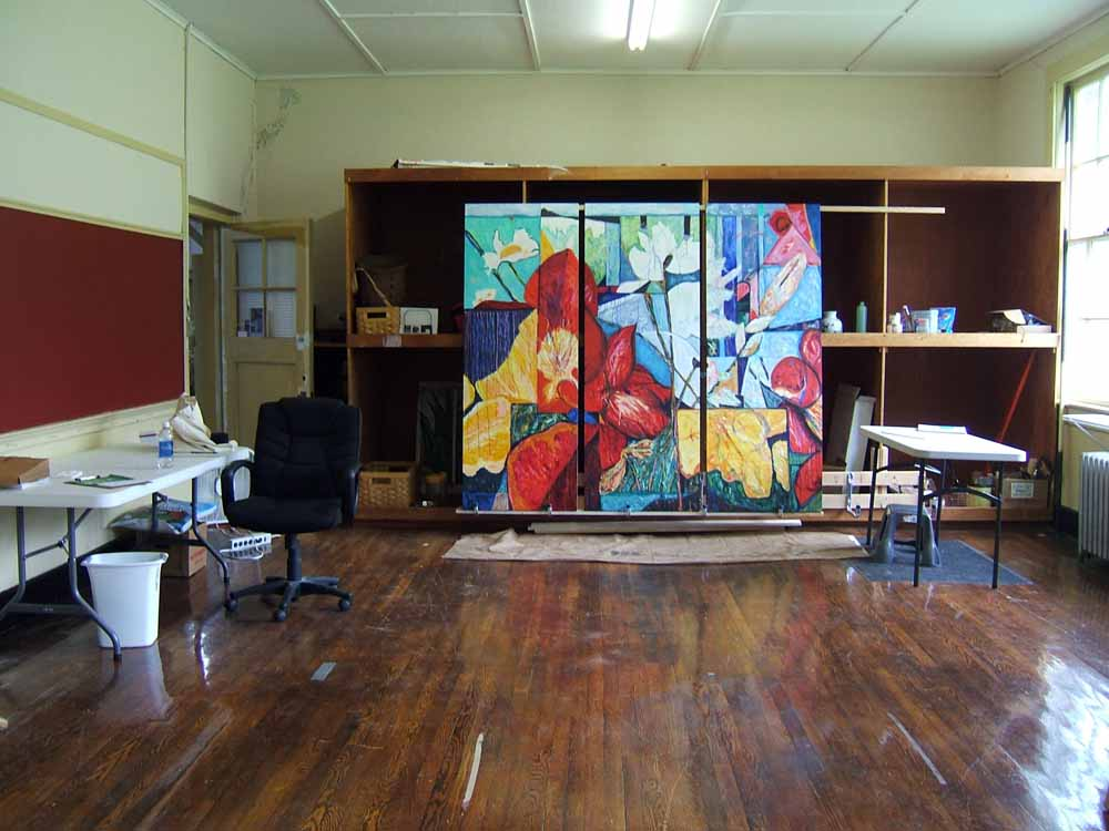 Susan Livengood Art Studio Old Fines Creek Gym